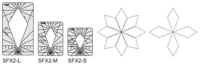 Westalee Spin-E-Fex SFX2S Template