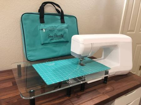 Sew Steady Versa Table and Teal Bag Promotion