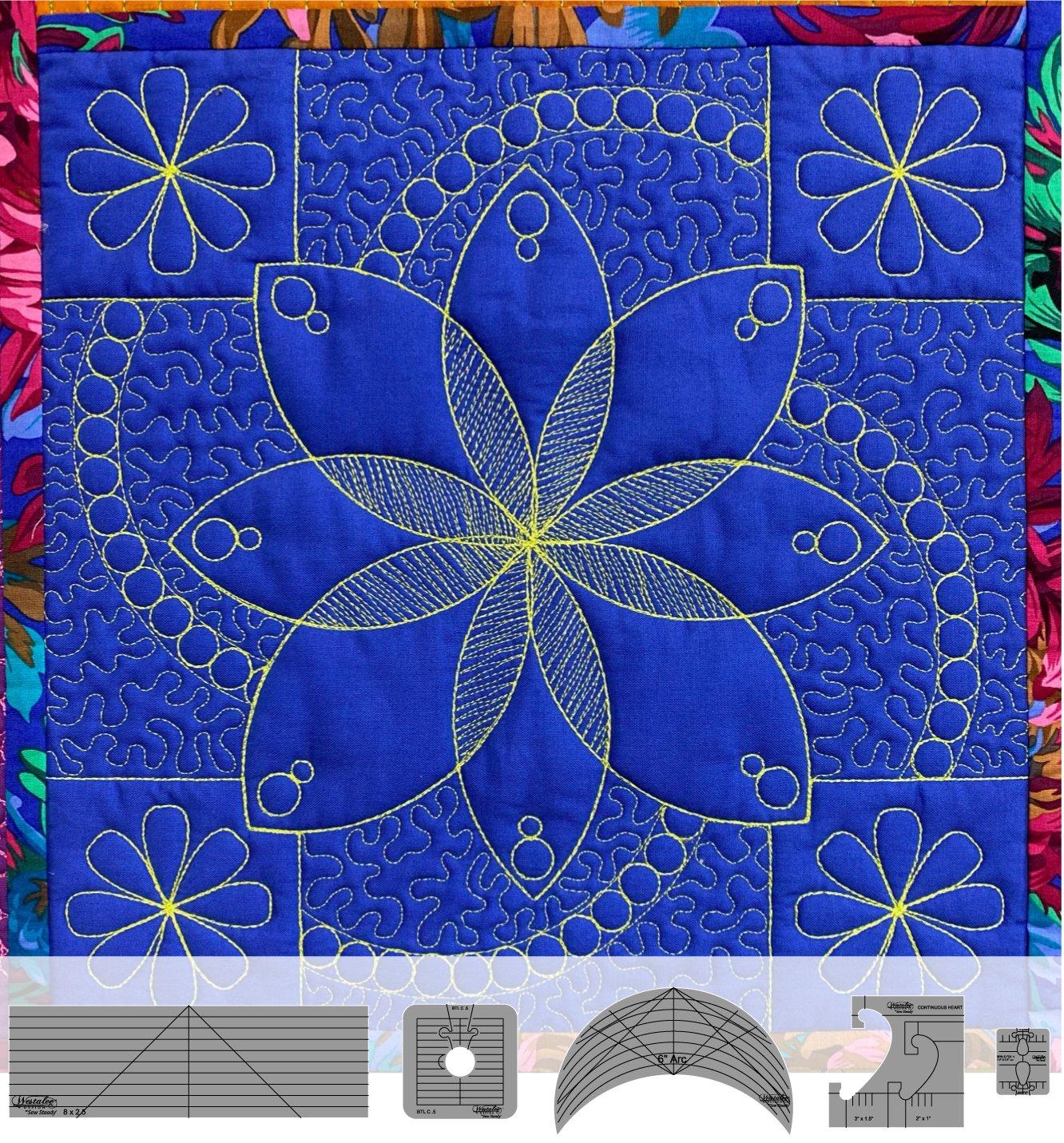 Westalee Flower Power Block 5 piece Set