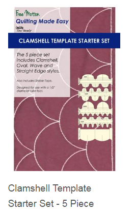 Westalee Clamshell Template Starter Set