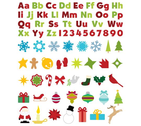 36487 'Tis the Season Slice Design Card