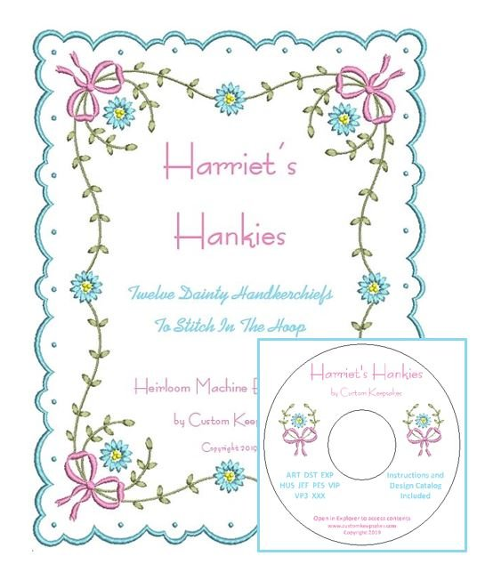 Harriet's Hankies - Hard Copy