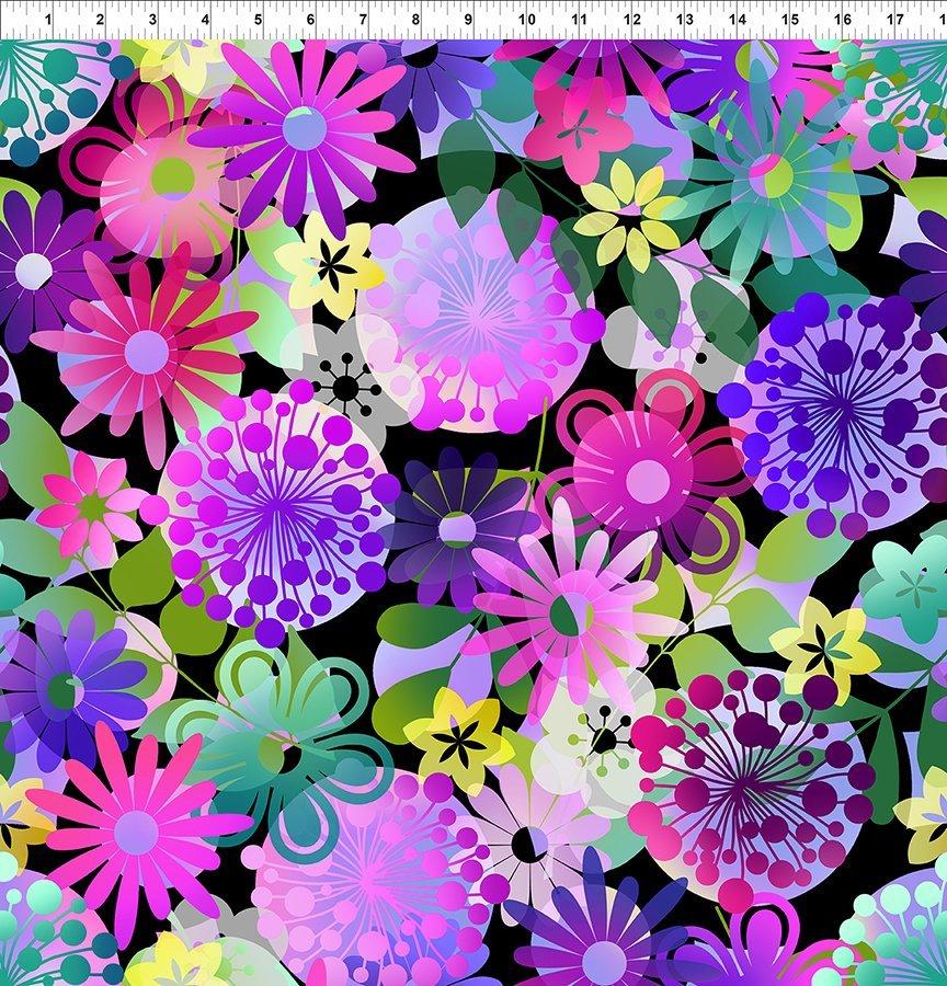 A Groovy Garden - Garden Large Purple