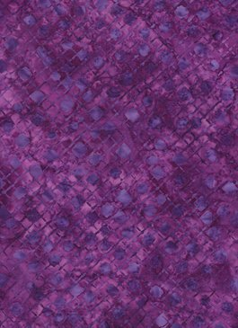 Anthology Fabrics Batik  Purple print 116756