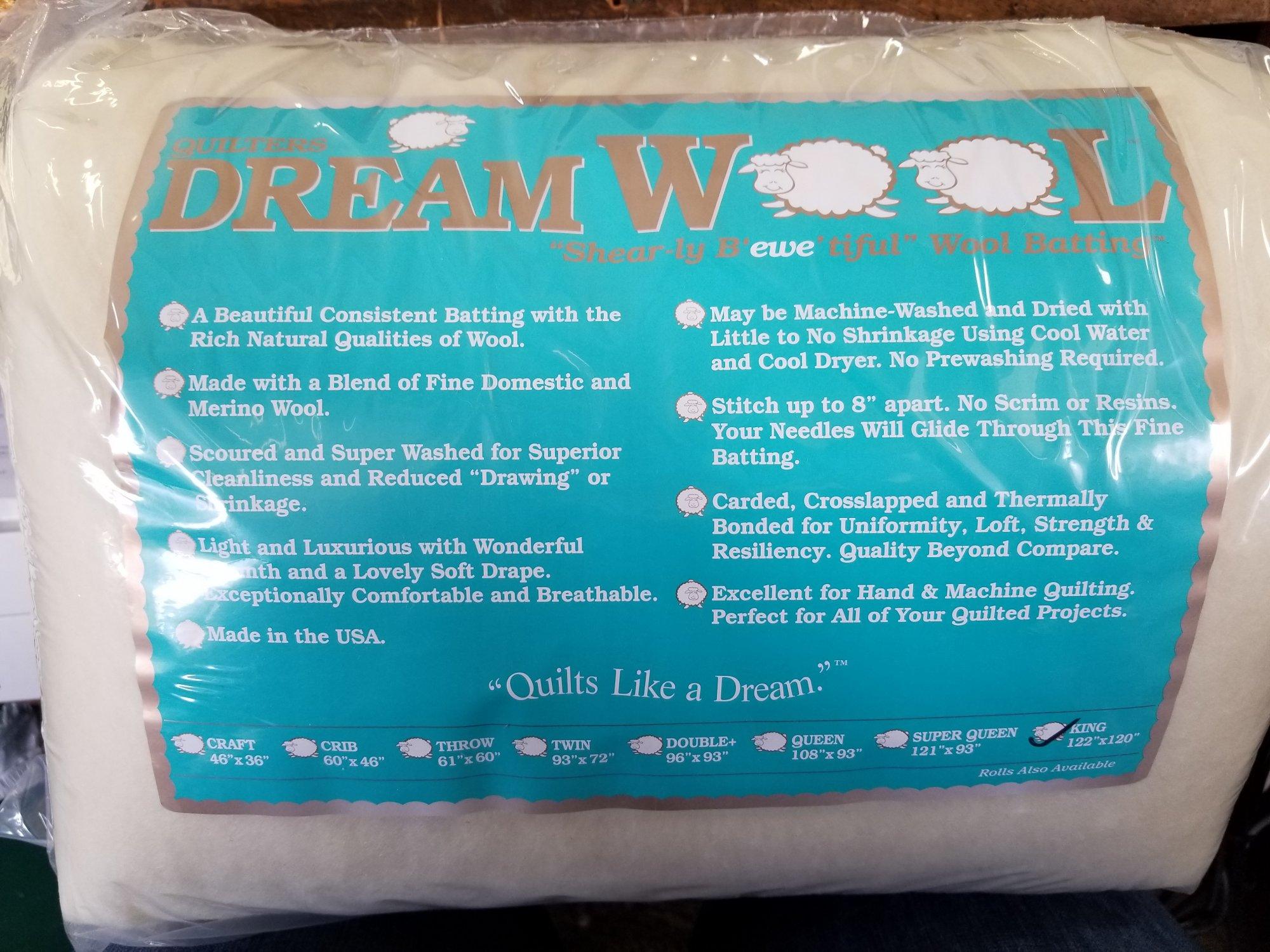 Dream Wool - King size wool