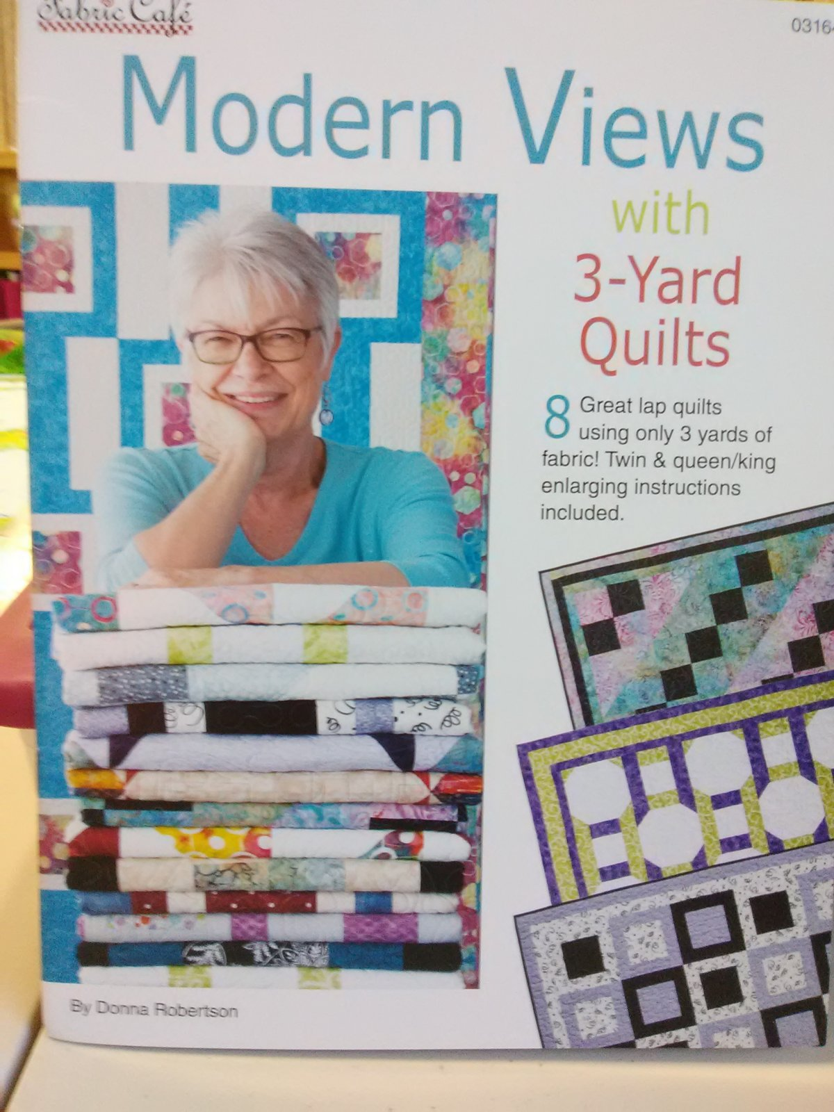 Modern View 3 yard Quilt Fabric Cafe