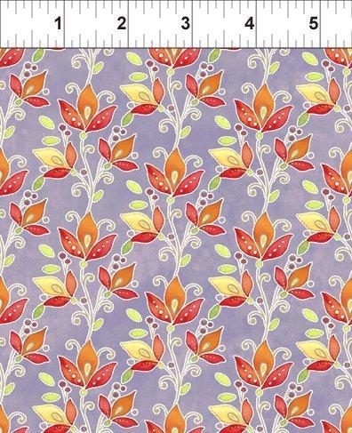 Ajisai - Jason Yentler 4ASJI2  Orange on Lavender