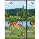 Oh Deer! Large panel * Clearance
