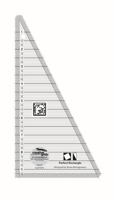 Creative Grid Perfect Rectangle Ruler 9.5