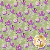 Ajisai - Jason Yentler 4AJI3 purple on green