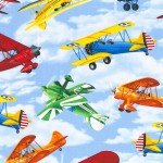 Airplanes on Blue sky
