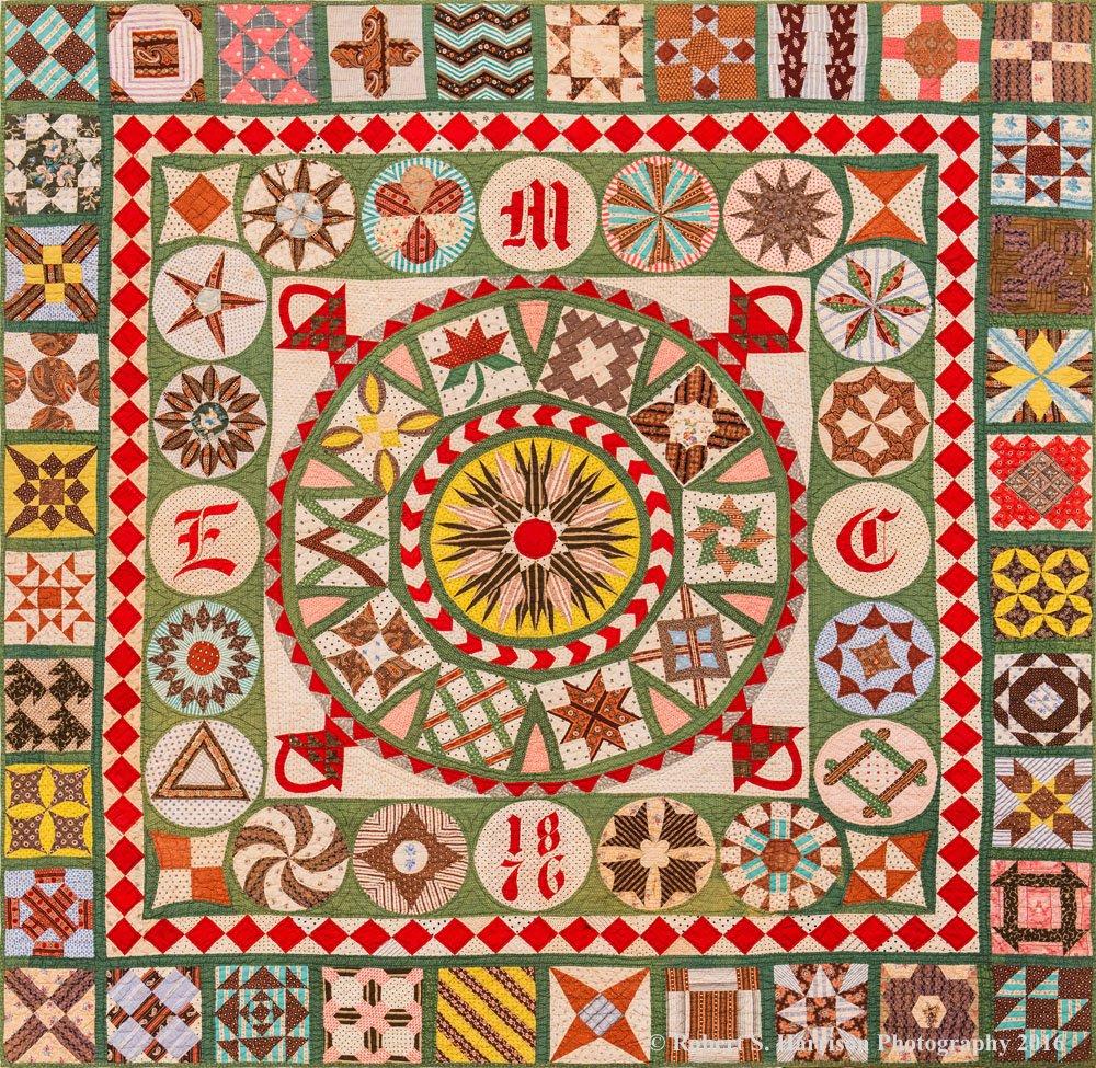 *The 1876 Centennial Quilt Project - Prepay