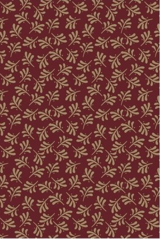 EQP Remembering Tomorrow 1805-01 Funky Fern - Ruby Red