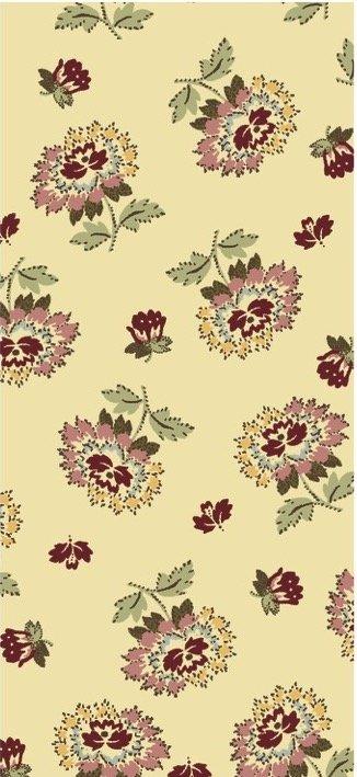 EQP Remembering Tomorrow 1801-01 Wild Roses - Ecru