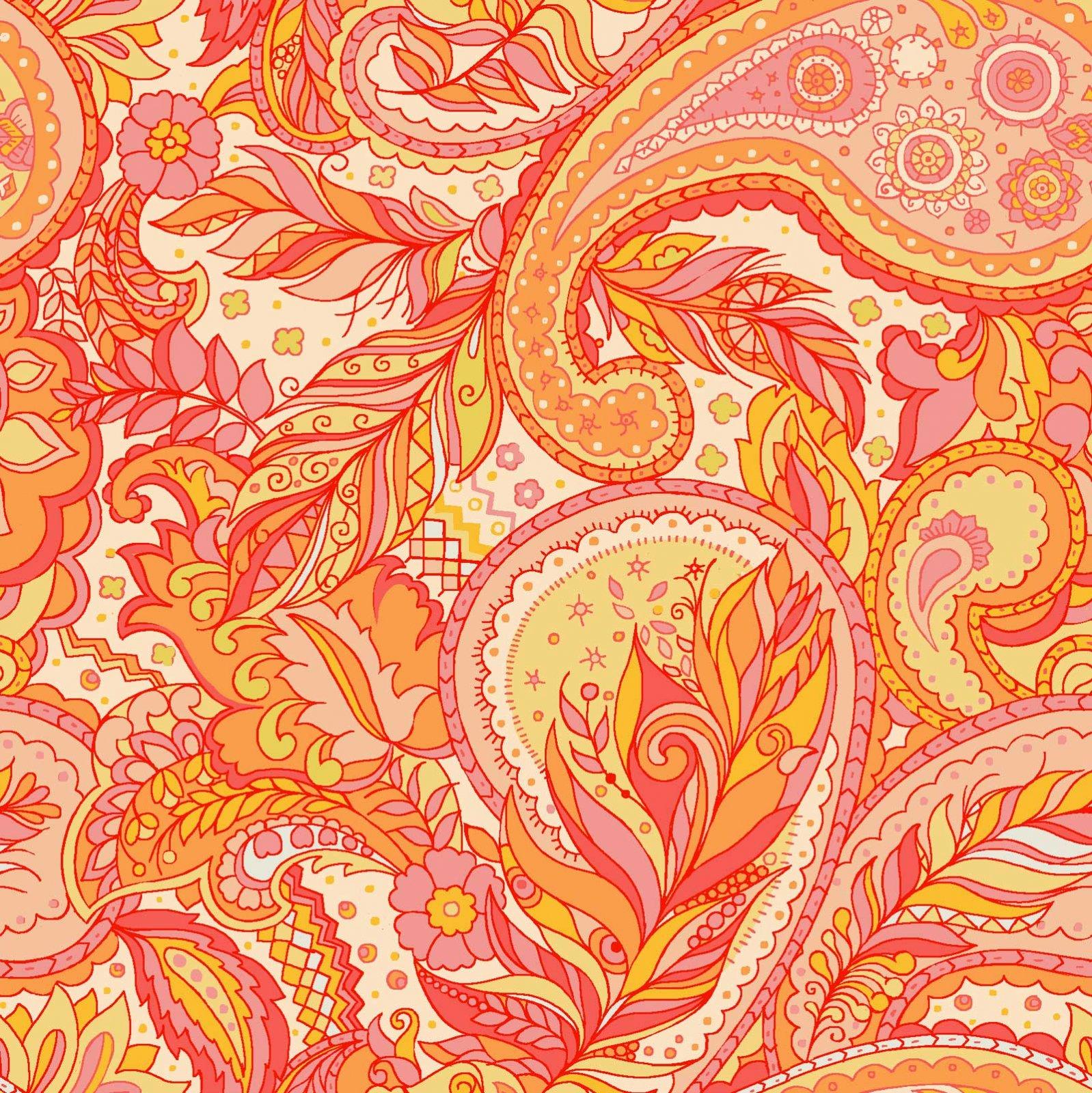 Boho Chic - 60-16601- Orange Multi