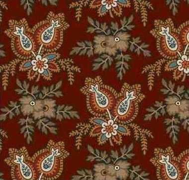 Cross Quilt #00351 Brown