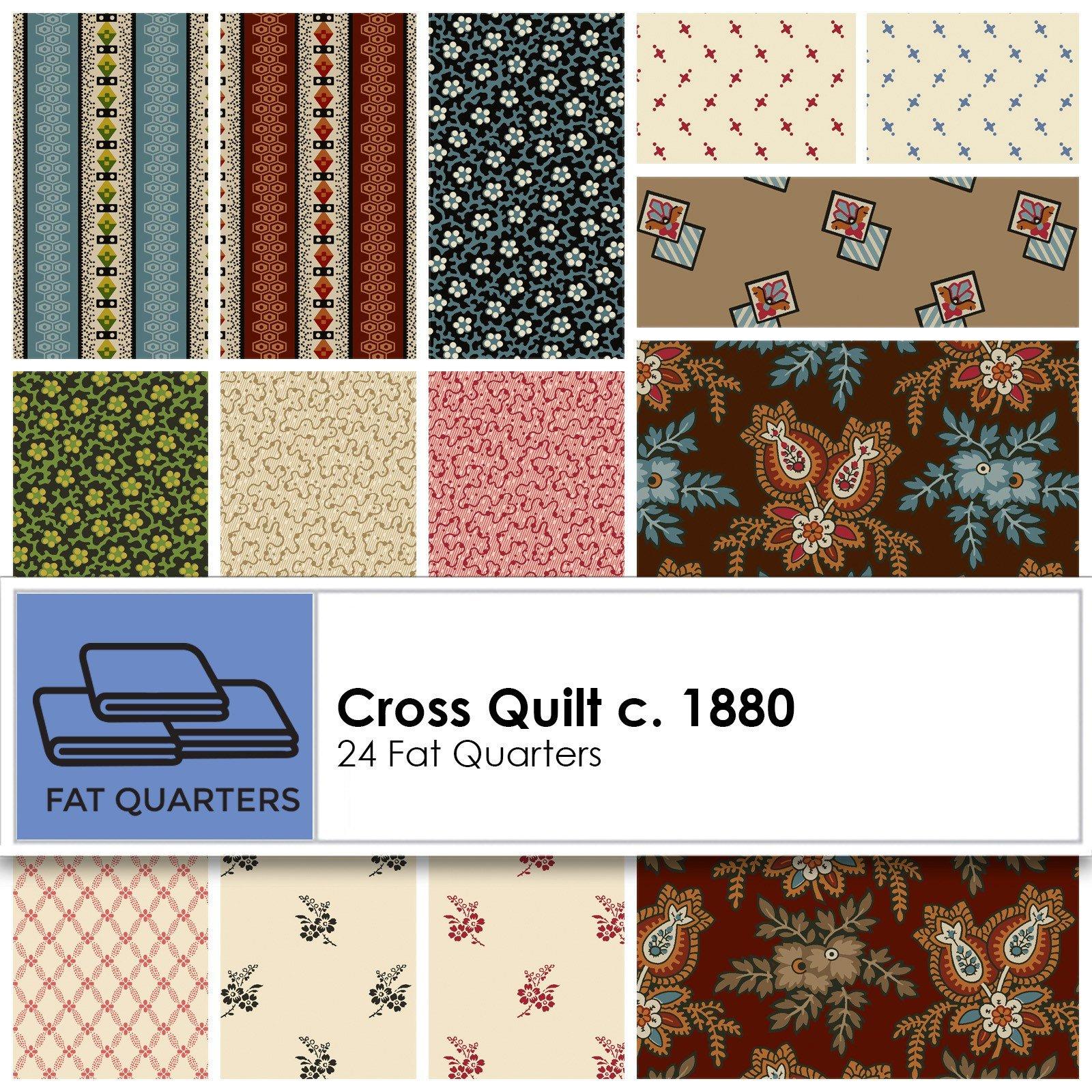 Cross Quilt Fat Quarter Bundle