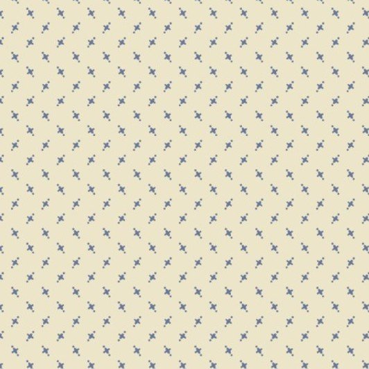 Cross Quilt #00358 Blue