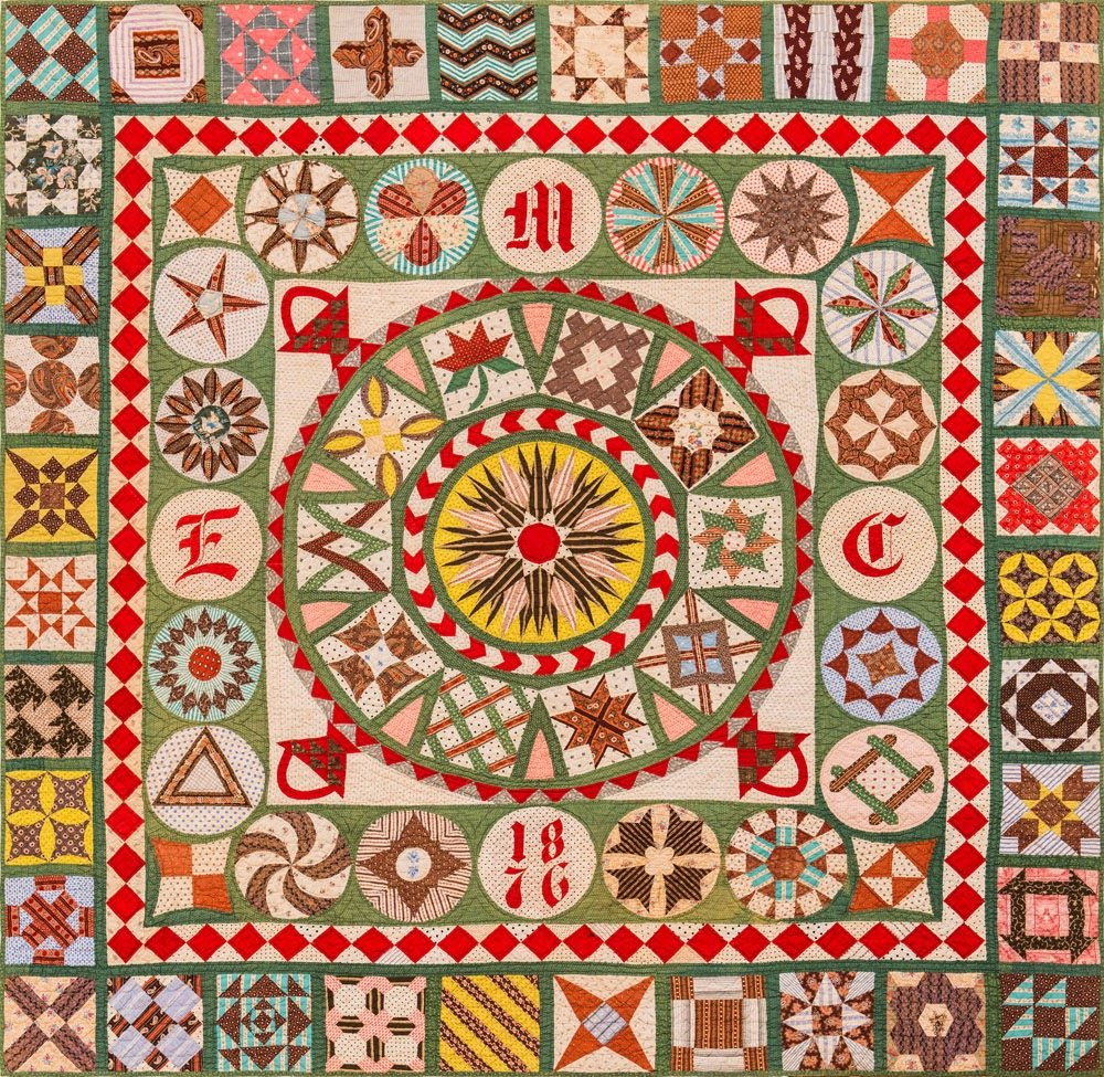 The 1876 Centennial Quilt Project - International Digital Download - Monthly