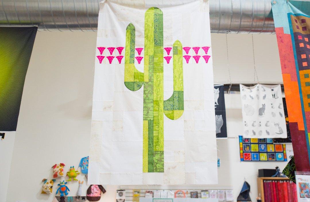 Mod Cactus Quilt Pattern