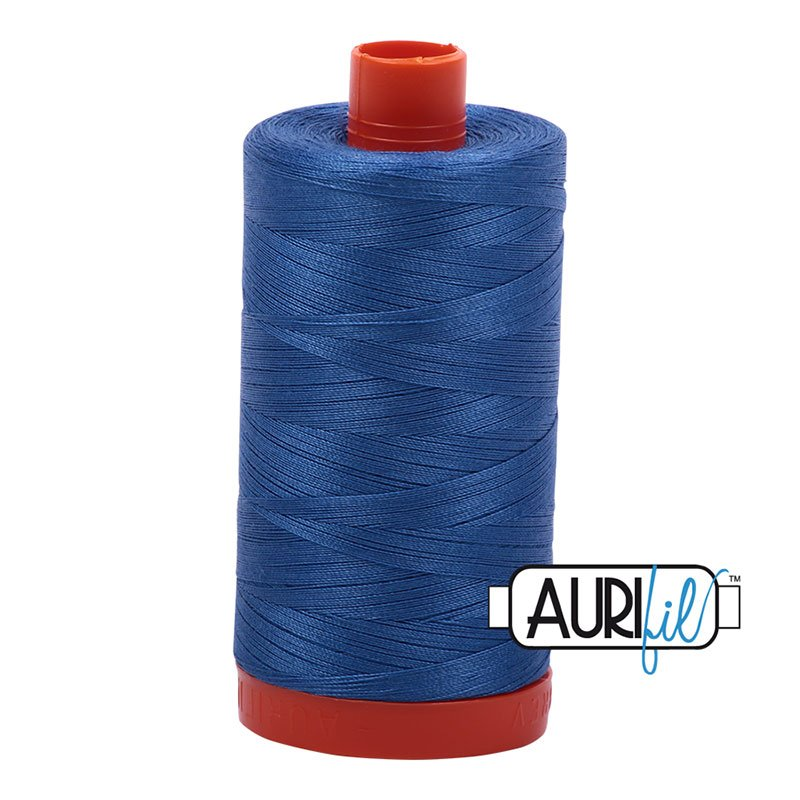 Aurifil Cotton Thread Peacock Blue 6738