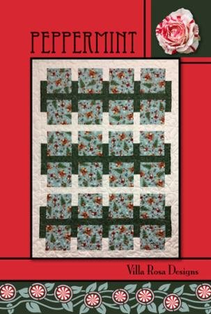 Villa Rosa Pattern Card Peppermint
