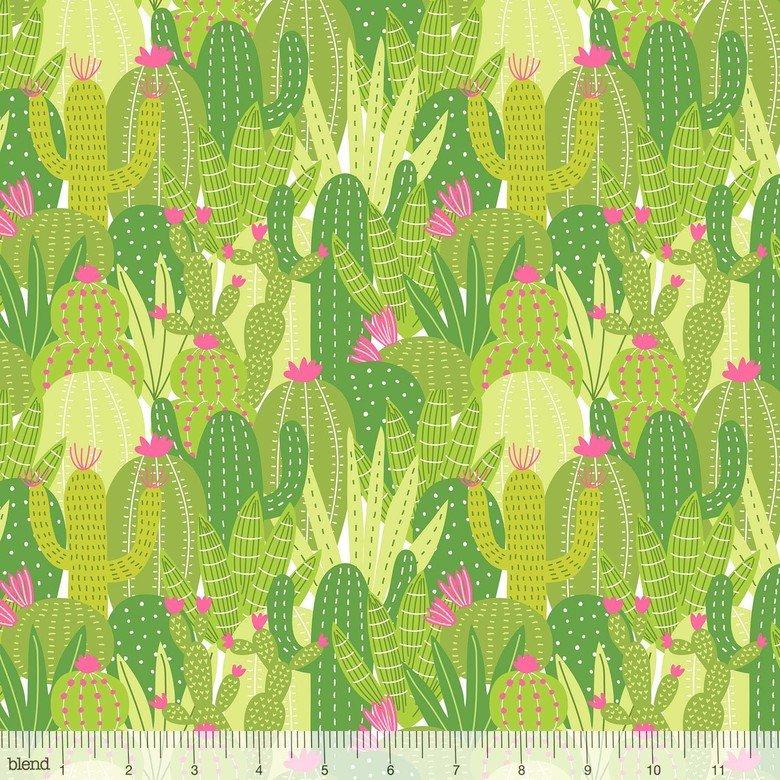 Desert Blooms Green Cactus