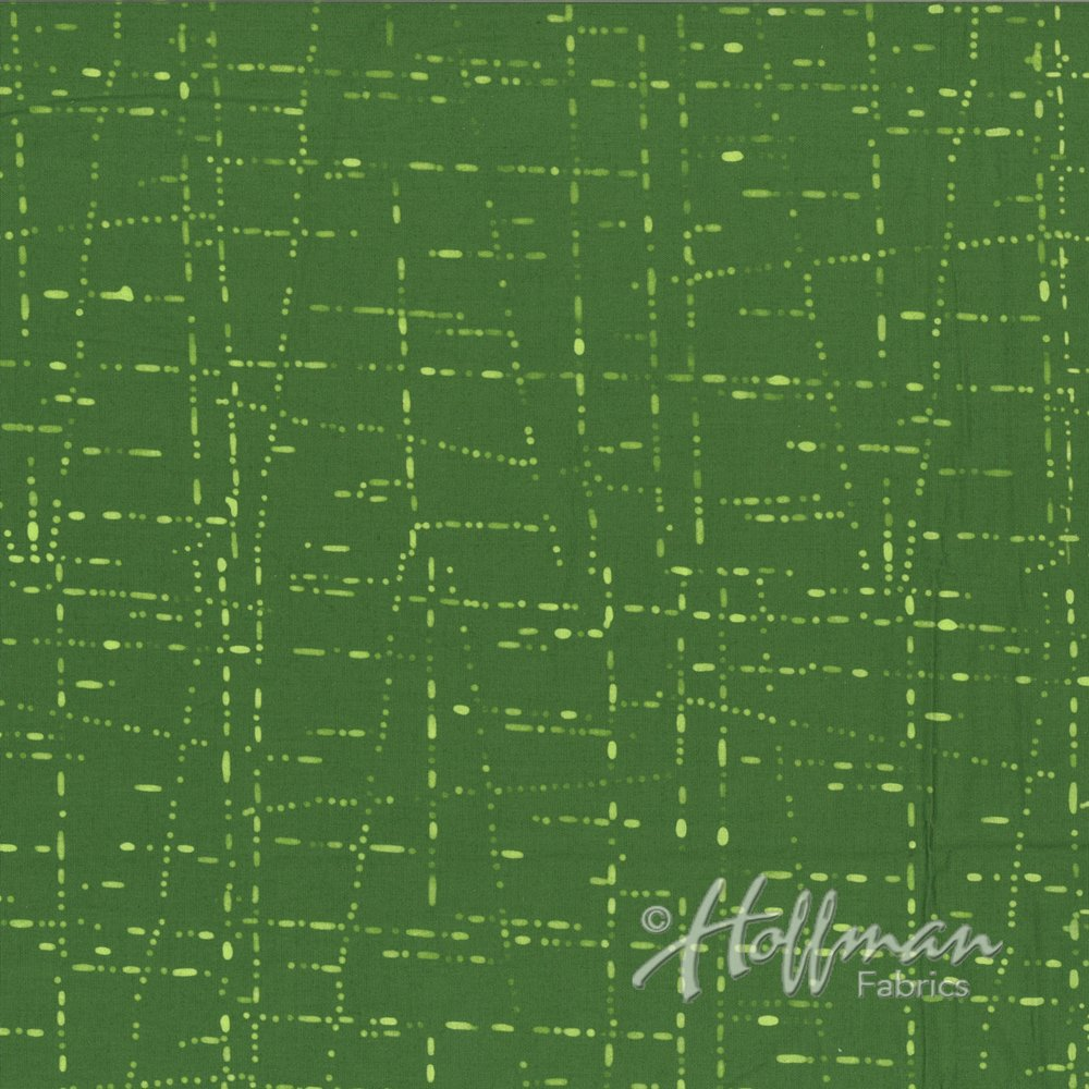 Dotty Grid - Moss