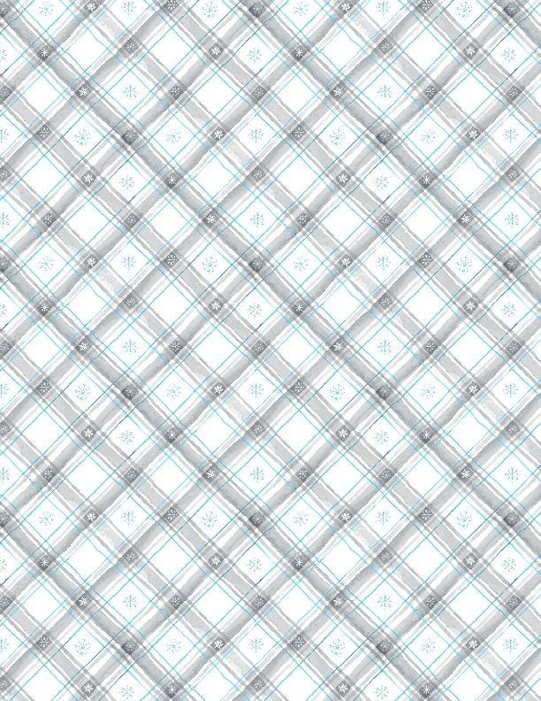 Snow Valley Holiday Plaid