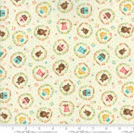 7/8 Yd. Remnant Home Sweet Home Cream