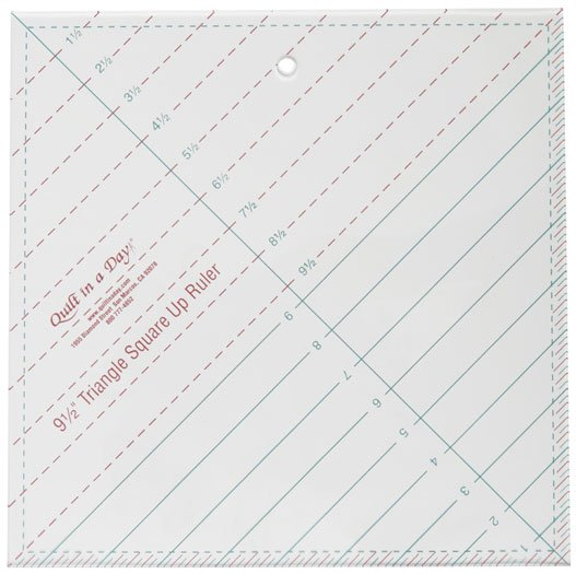 QIAD Triangle Square Up Ruler 9.5