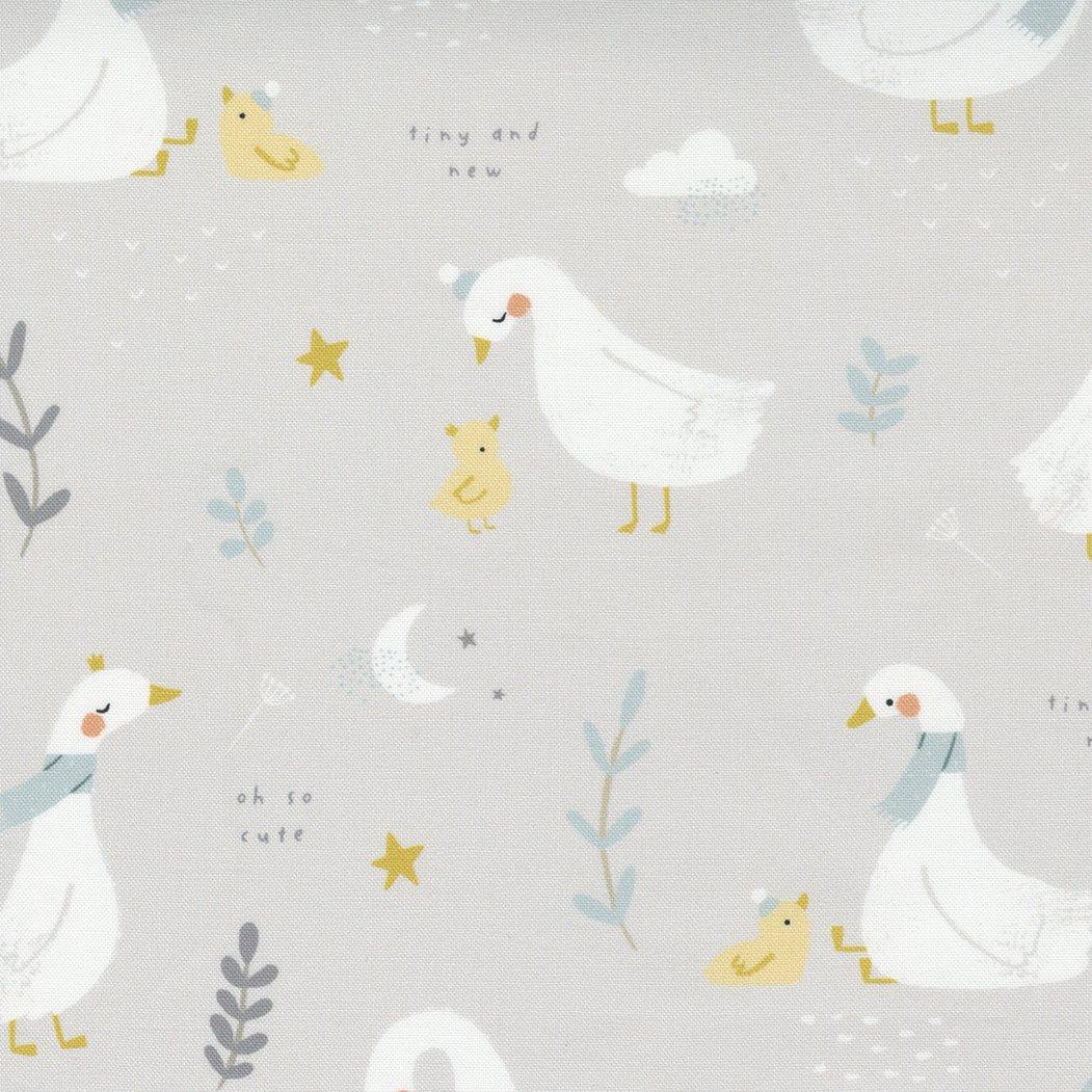 Little Ducklings Goose Storybook Warm Grey PREORDER