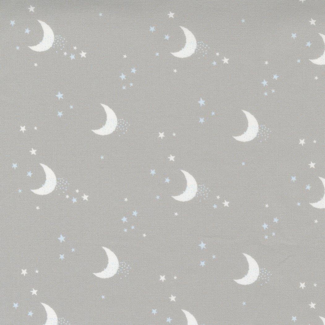 Little Ducklings Moon Stars Warm Grey PREORDER