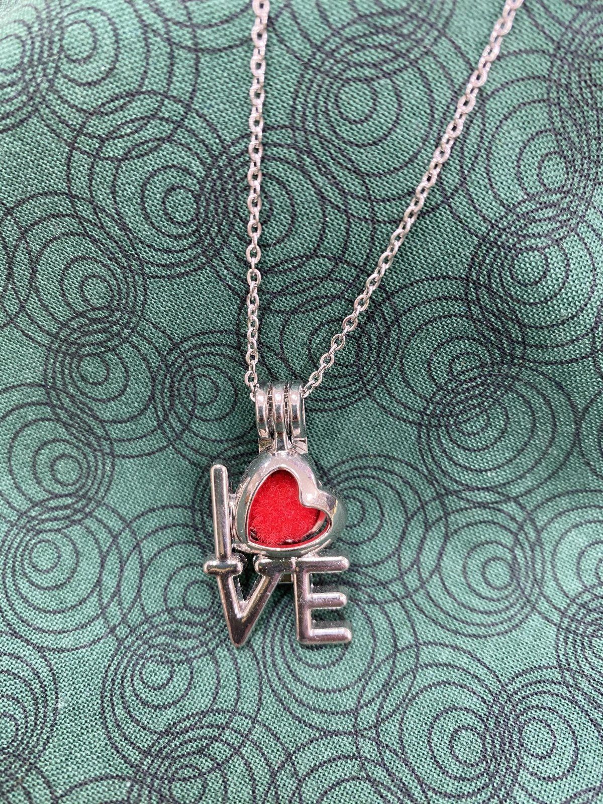 Love Essential Oil Necklace