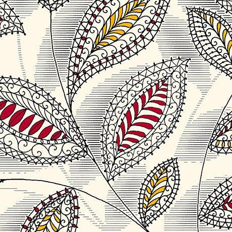 Harrison Park Linear Floral Beige