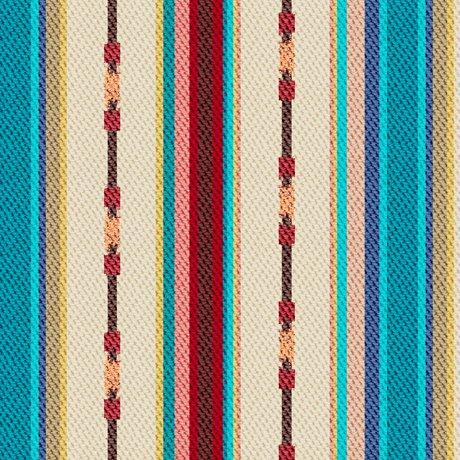 Dream Weaver Textured Serape Stripe Tan