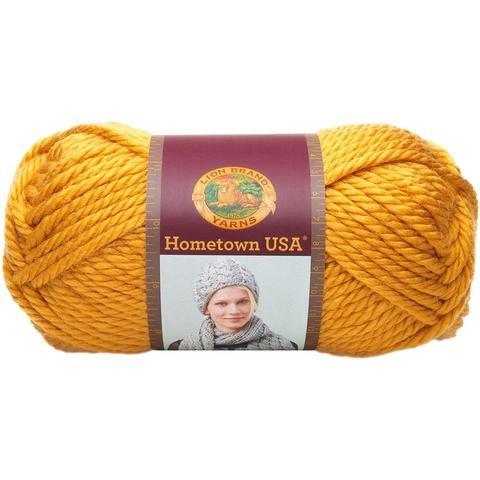 Pittsburgh Yellow Lion Hometown USA Yarn