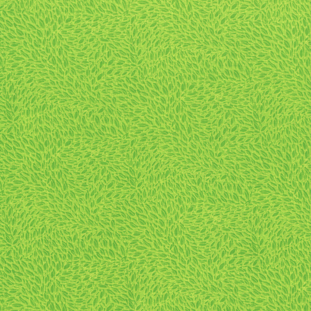 Hopscotch Leaves In Motion Lime 3/4 yard cut