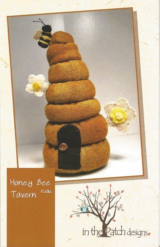 Honey Bee Tavern Pincushion Kit