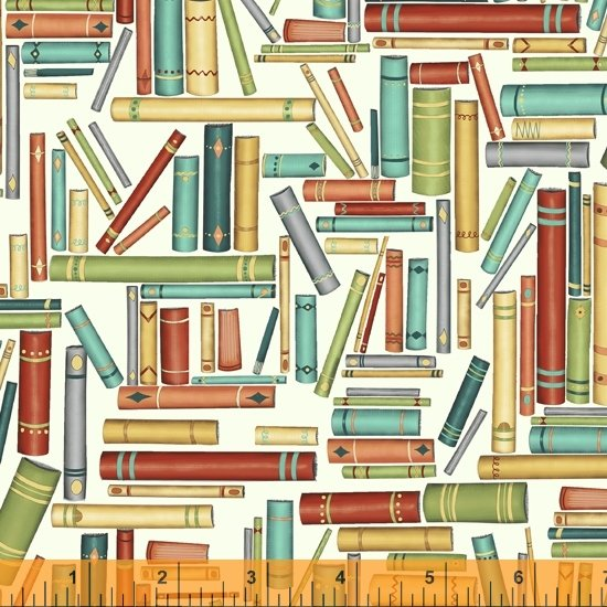 Purrfect Day - Stacked Books on White