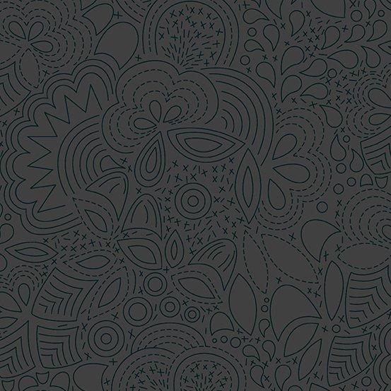 Sun Print 2020 by Alison Glass - Stitched: Night