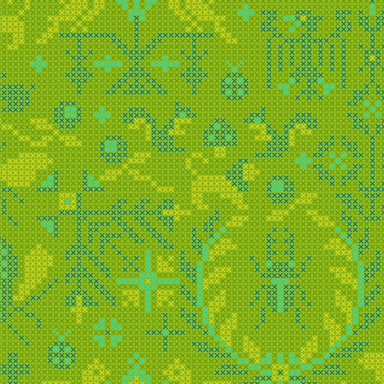 Sun Print 2020 by Alison Glass - Menagerie: Lichen