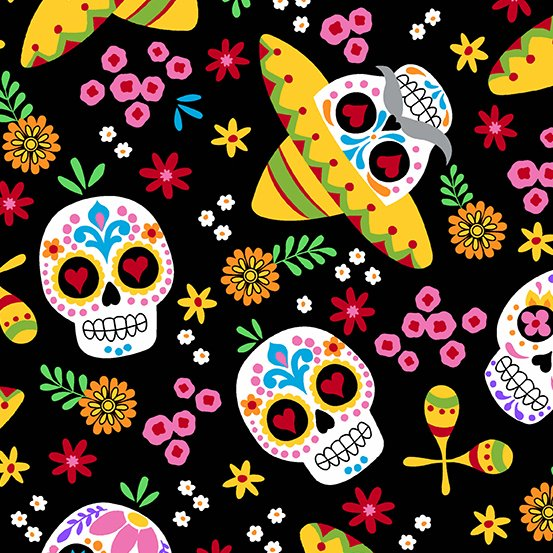Day of the Dead Calaveras - Night