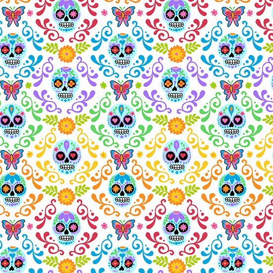 Day of the Dead Mariposas - Day