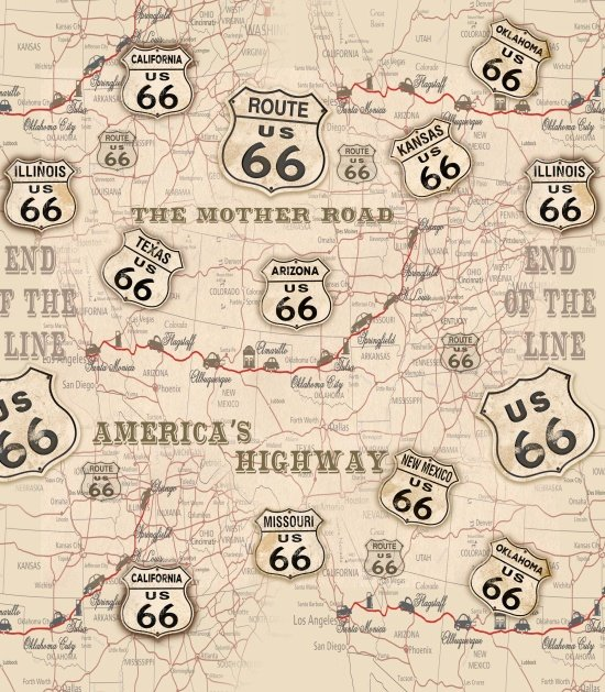 American Dream Route 66 Ivory