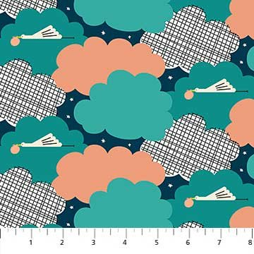 Special Delivery - Storks in Clouds
