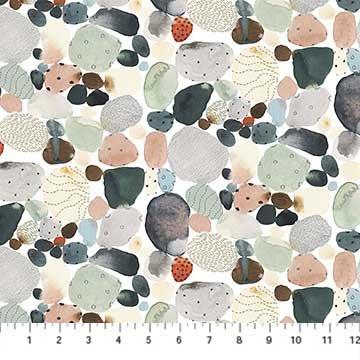 Desert Wilderness Watercolor Pebbles