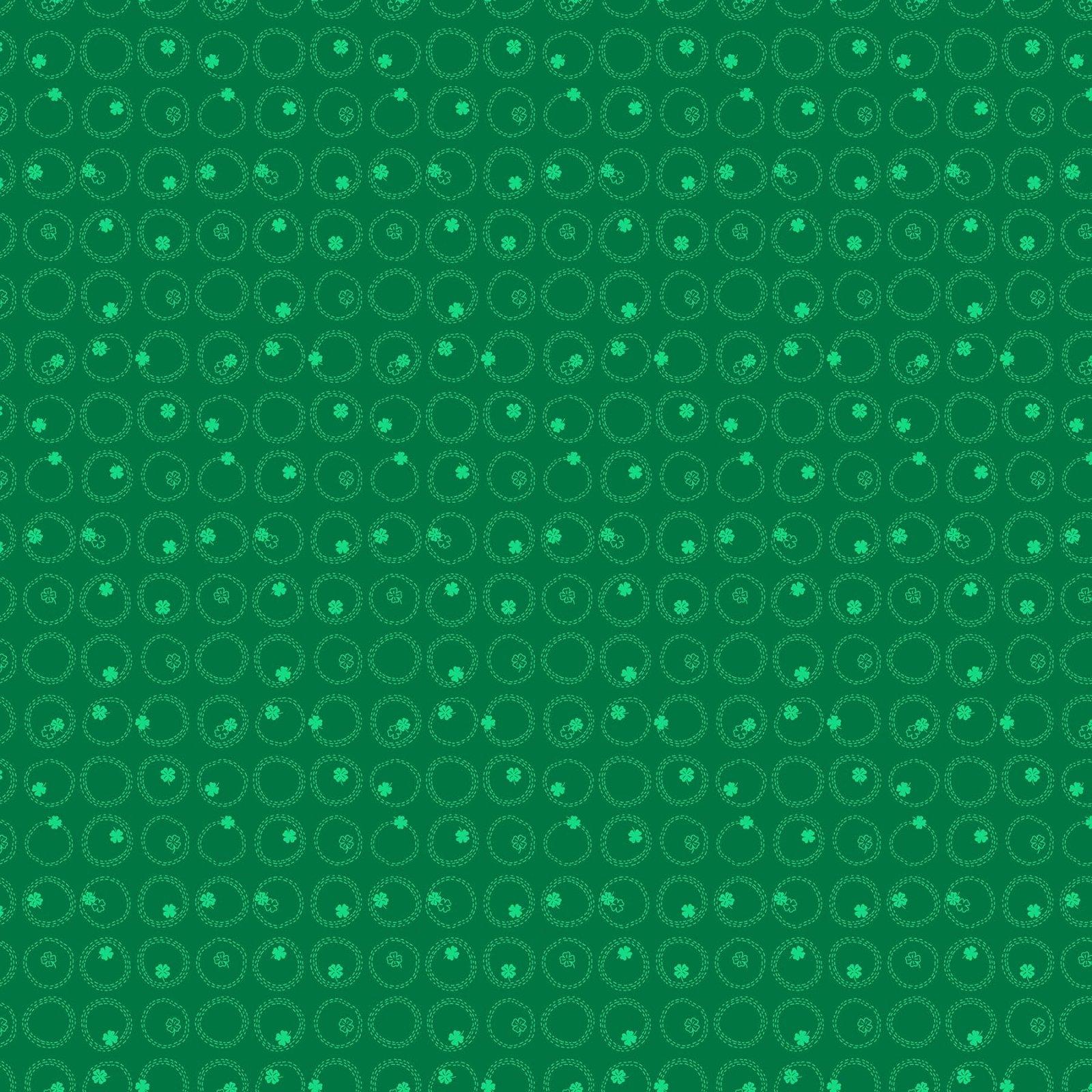 FIGO Four Leaf Clovers Green