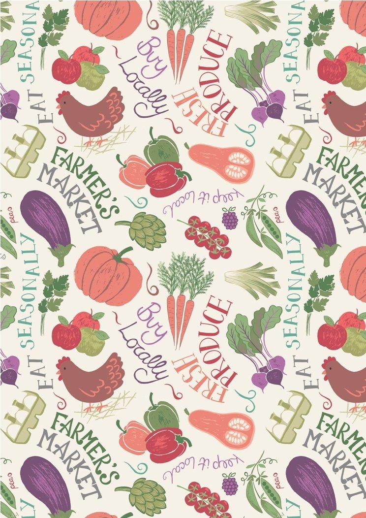 Farmer's Market Vegetables Cream