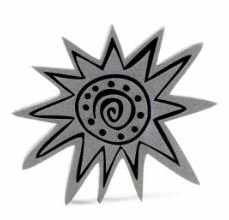 African Star Stamp